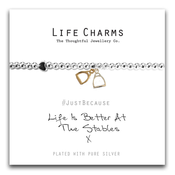 Life Charms - Life Is Better Bracelet