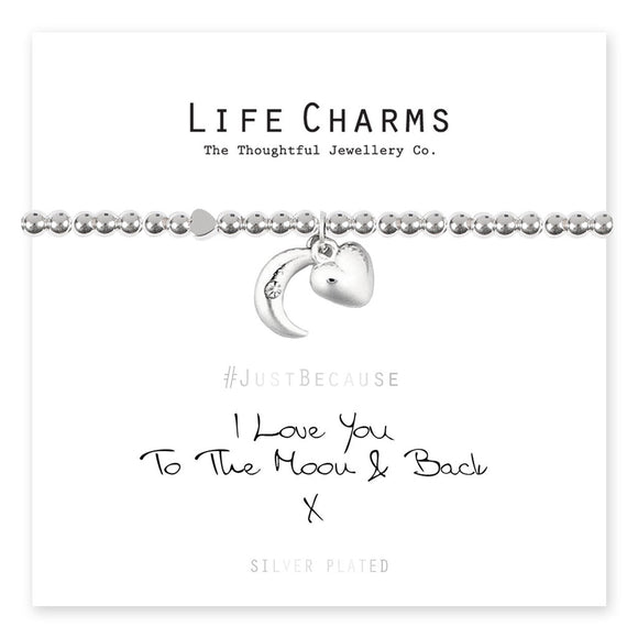 Life Charms - Love You To The Moon and Back Bracelet