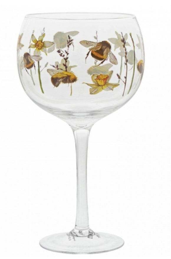 Ginology Bumble Bee Glass