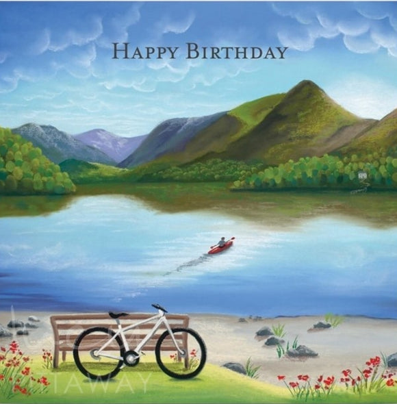 Lucy Pittaway Lakeland Rush Birthday Card