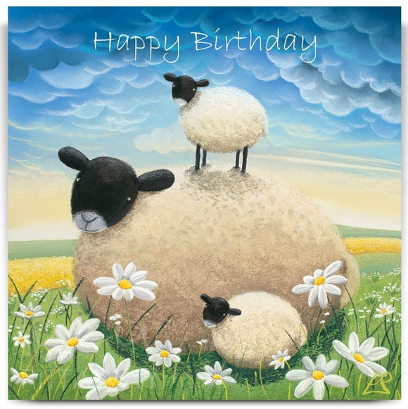 Lucy Pittaway Double Trouble Birthday Card