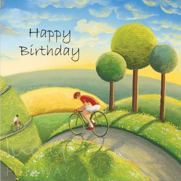 Lucy Pittaway Rolling Through The Dales Birthday Card