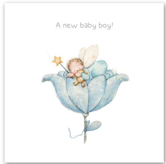 A New Baby Boy Card Berni Parker