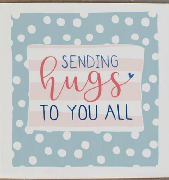 Sending Hugs to you All Card by Molly Mae