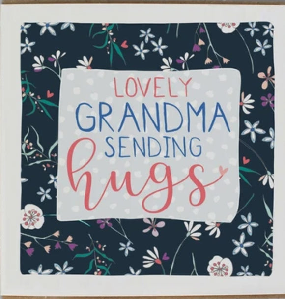 Sending Hugs Grandma  Card by Molly Mae