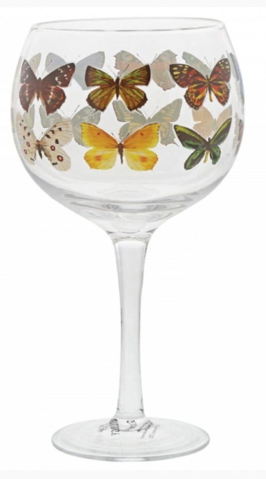 Ginology Butterfly Gin Glass