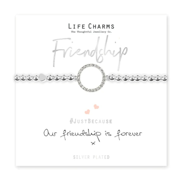 Life Charms - Our Friendship is Forever Bracelet