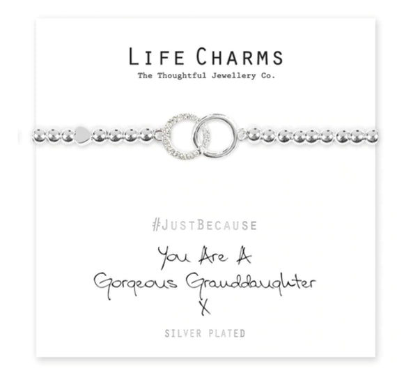 Life Charms - Gorgeous Grandaughter