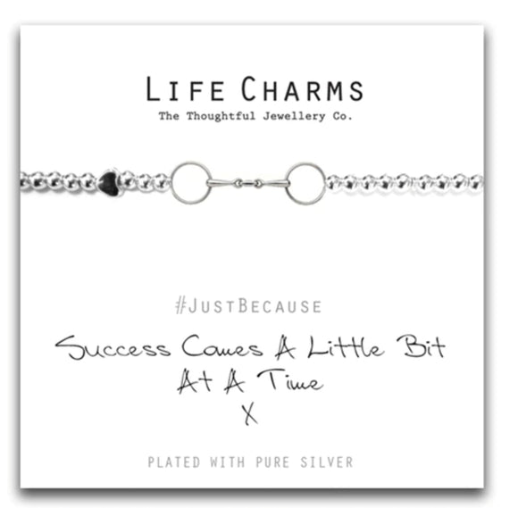 Life Charms Bracelet- Bit at a time