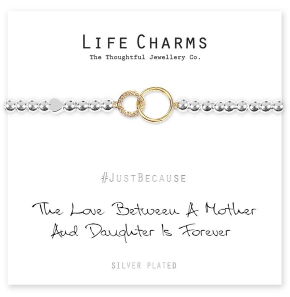 Life Charms - Mother & Daughter Bracelet