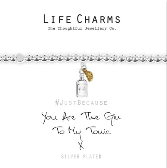 Life Charms Bracelet -Gin & Tonic