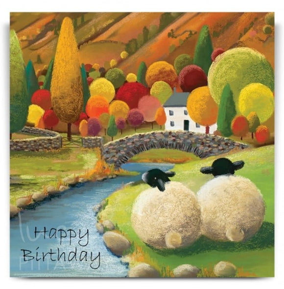 Lucy Pittaway Perfect Place Birthday Card