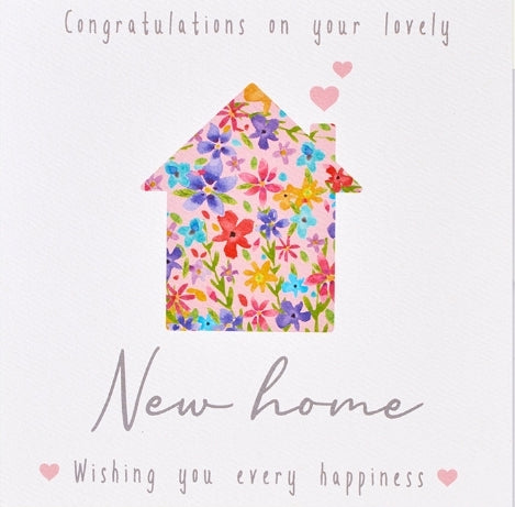 NEW HOME CARD Floral House