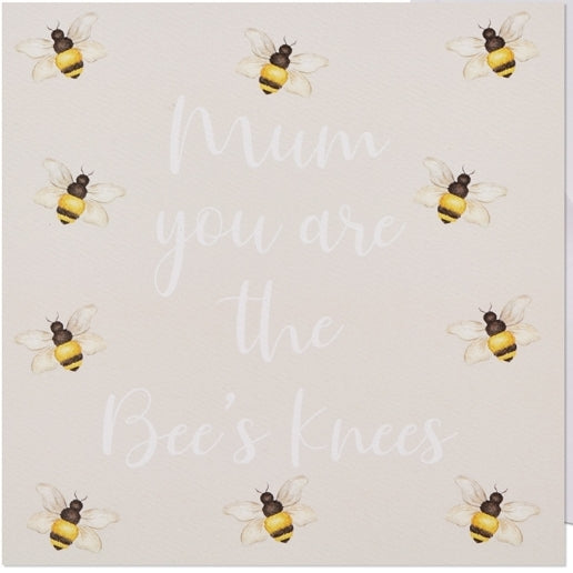 BEES KNEES MUM CARD (Blank Mother's Day/Birthday)