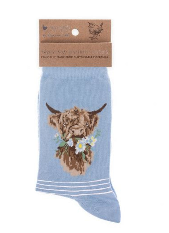 Daisy Coo' socks by Wrendale