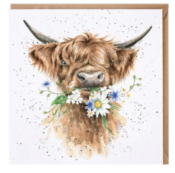 Daisy Coo blank card By Wrendale
