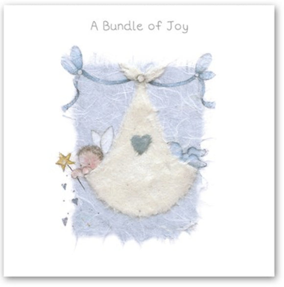A Bundle of Joy Baby Card Berni Parker