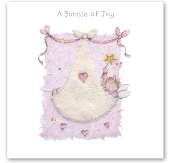 A Bundle of Joy Girl Card Berni Parker