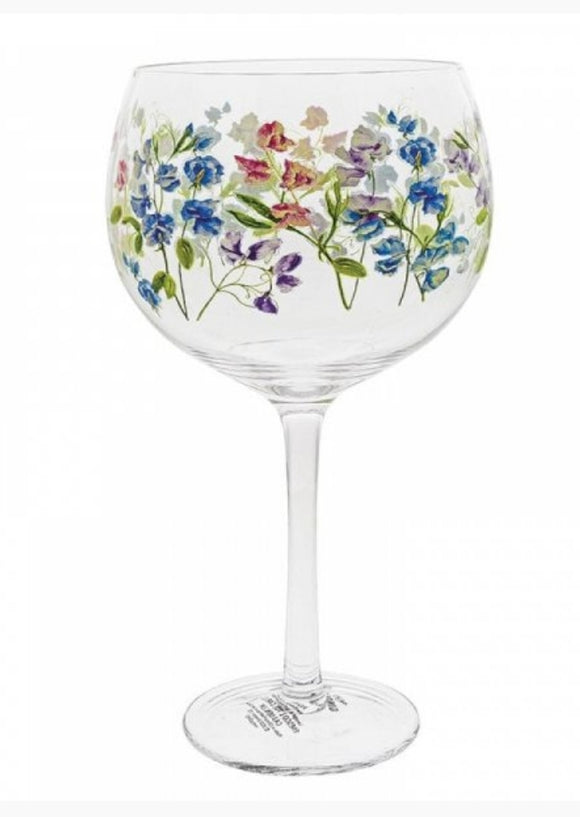 Ginology Sweet Pea Gin Glass