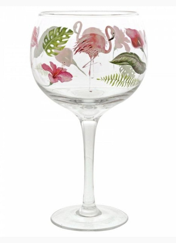 Ginology Flamingo Gin Glass
