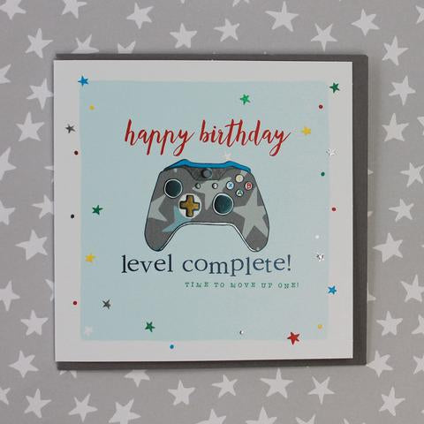Games controller. Birthday Card by Molly Mae