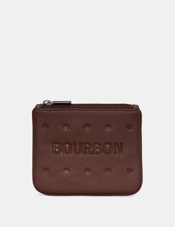 Bourbon Biscuit Leather Coin Purse by Yoshi