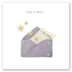 Berni Parker Just a Note/ Thinking of You Card