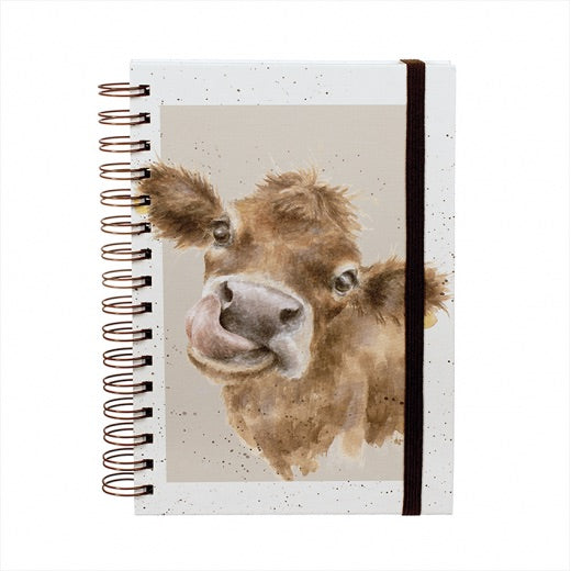 Moo Notebook by Wrendale