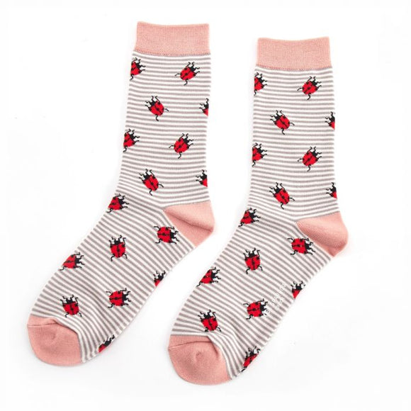 Ladybirds Bamboo Sock Grey