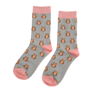 Owls Bamboo Mix  Socks