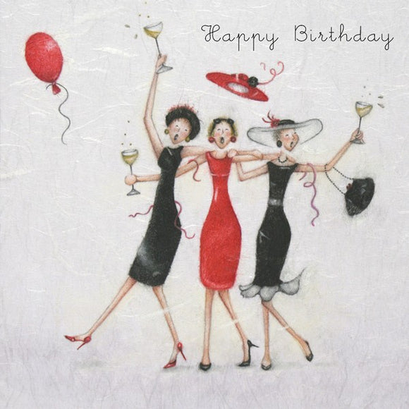 Berni Parker Happy Birthday Card
