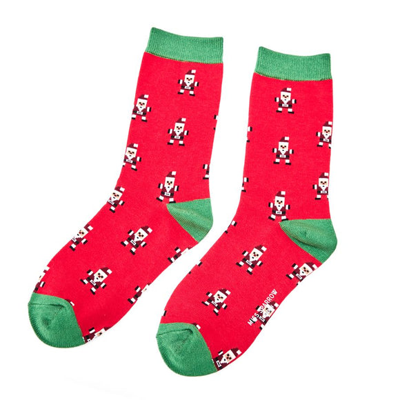 Santa Bamboo Mix  Socks