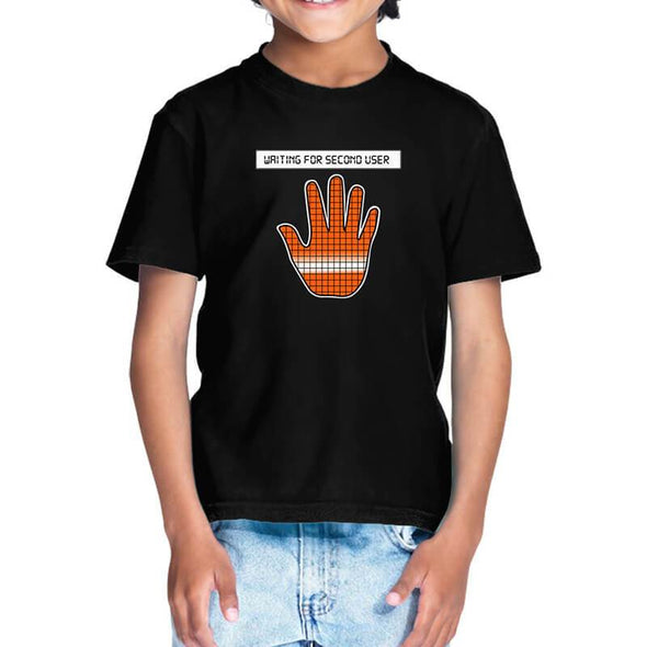 T-SHIRTS 1 / BLACK Among Us - Reactor Meltdown Hand T-Shirt For Kids FRYING PUN