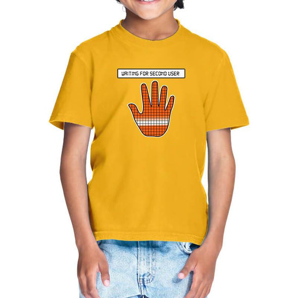 T-SHIRTS 1 / GOLDEN YELLOW Among Us - Reactor Meltdown Hand T-Shirt For Kids FRYING PUN