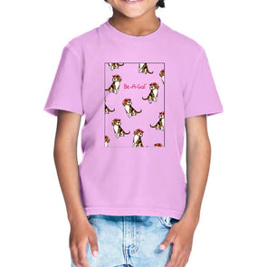 T-SHIRTS Be A Gal T-Shirt For Kids FRYING PUN