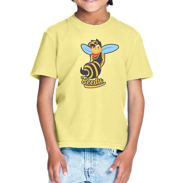 T-SHIRTS 1 / BUTTER YELLOW Beedu T-Shirt For Kids FRYING PUN