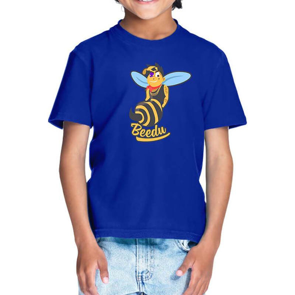 T-SHIRTS 1 / ROYAL BLUE Beedu T-Shirt For Kids FRYING PUN