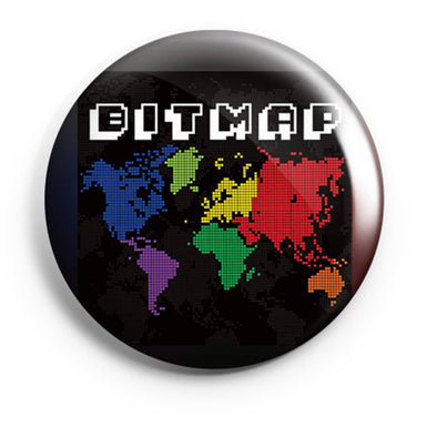 BUTTON BADGES PATTERNED Bitmap Button Badge