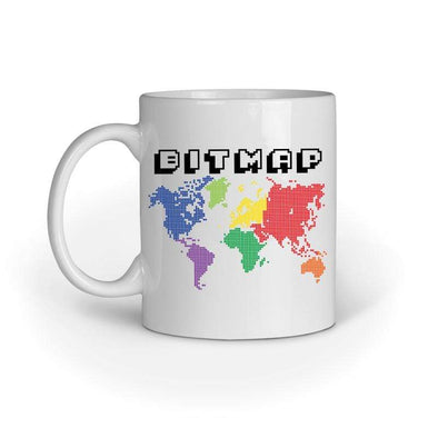 MUGS Bitmap Mug FRYING PUN