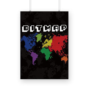 POSTERS A3 Bitmap Poster