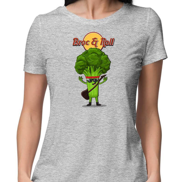 T-SHIRTS Broc & Roll T-Shirt For Women FRYING PUN
