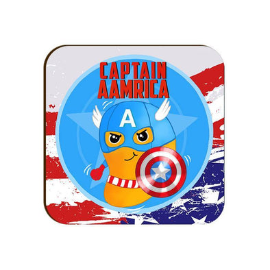 COASTERS Captain Aamrica Coaster
