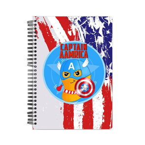 NOTEBOOKS Captain Aamrica Notebook