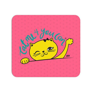 MOUSE PADS Cat Me If You Can Mouse Pad