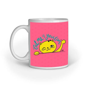MUGS Cat Me If You Can Mug