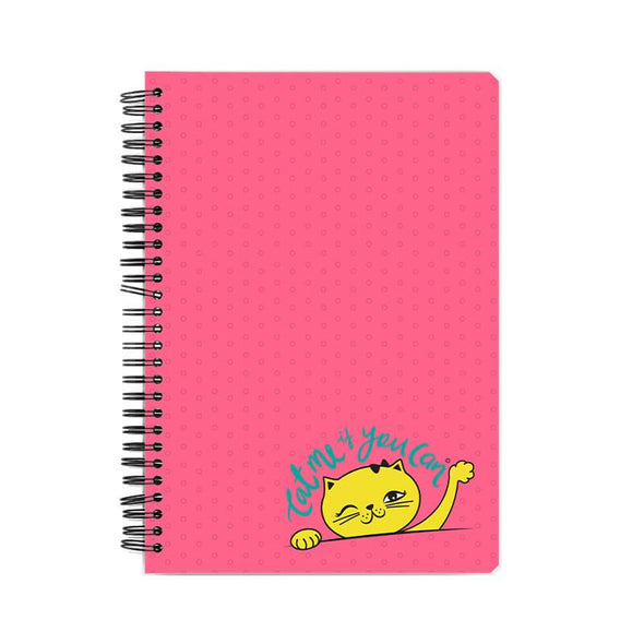 NOTEBOOKS Cat Me If You Can Notebook FRYING PUN