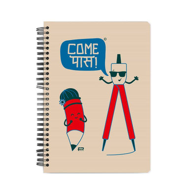 NOTEBOOKS Come Pass Notebook FRYING PUN