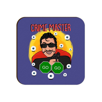COASTERS Crime Master Go Go Coaster FRYING PUN