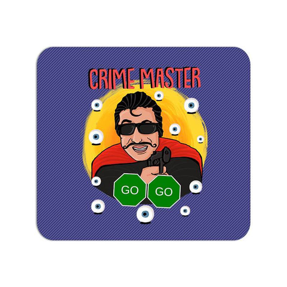 MOUSE PADS Crime Master Go Go Mouse Pad FRYING PUN
