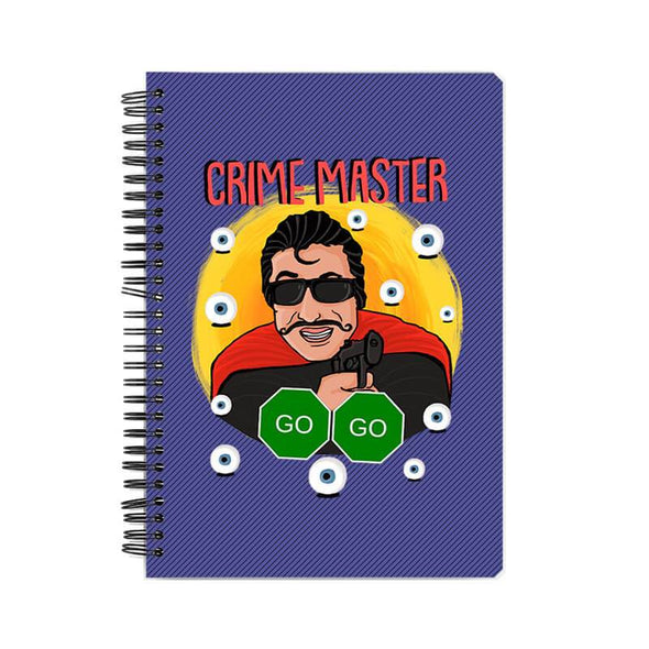 NOTEBOOKS Crime Master Go Go Notebook FRYING PUN